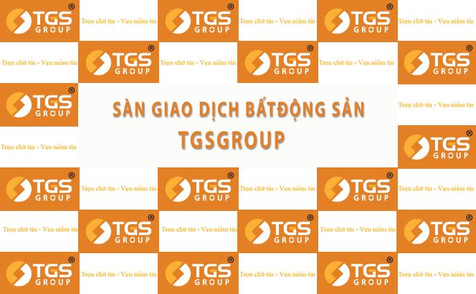 Backdrop Sàn Giao dịch Bất động sản TGSGROUP